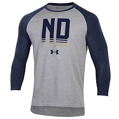 Men's Under Armour Notre Dame Fighting Irish Baseball Tee