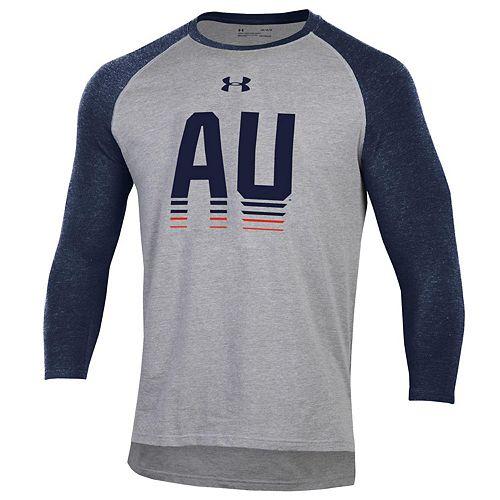 Men's Under Armour Auburn Tigers Baseball Tee