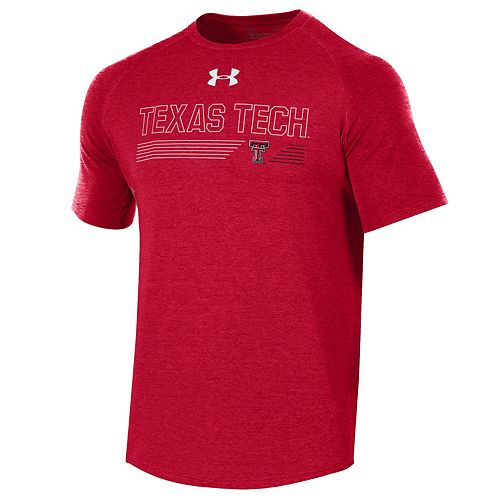 Men's Under Armour Texas Tech Red Raiders Long Line Tee