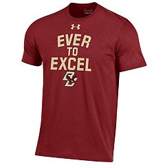 Men's Under Armour Boston College Eagles Charged Tee