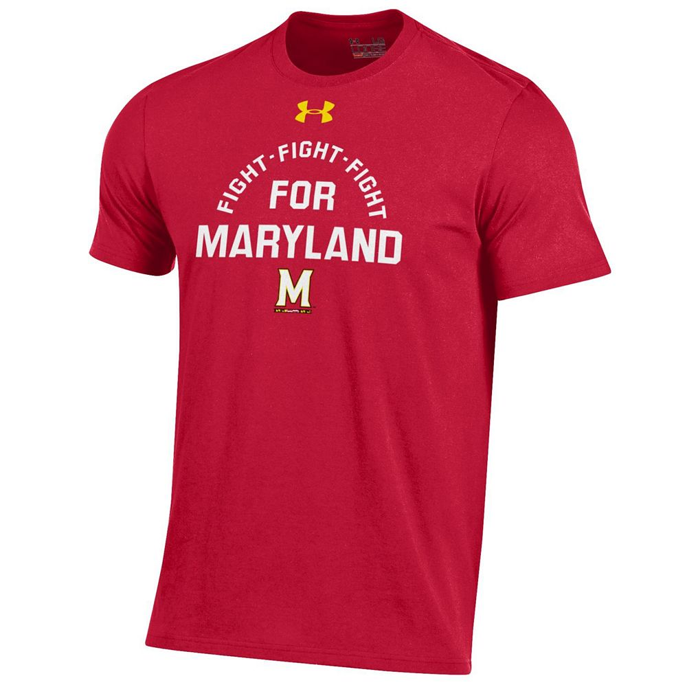 Men's Under Armour Maryland Terrapins Charged Tee