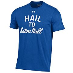 Men's Under Armour Seton Hall Pirates Charged Tee