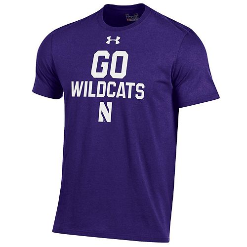 Men's Under Armour Northwestern Wildcats Charged Tee