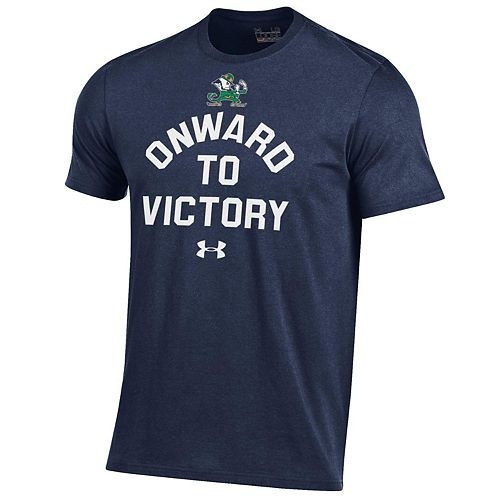 Men's Under Armour Notre Dame Fighting Irish Charged Tee