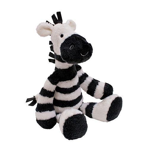 Lambs & Ivy Two of a Kind Zeke Zebra Plush