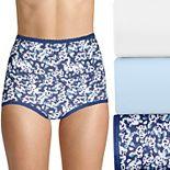 Bali® Skimp Skamp 3-Pack Cotton-Blend Brief Panty DFA332
