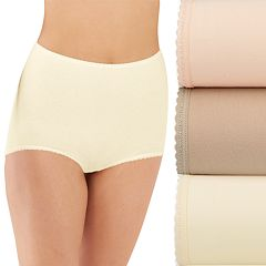 Bali Skimp Skamp 3-Pack Cotton-Blend Brief Panty DFA332