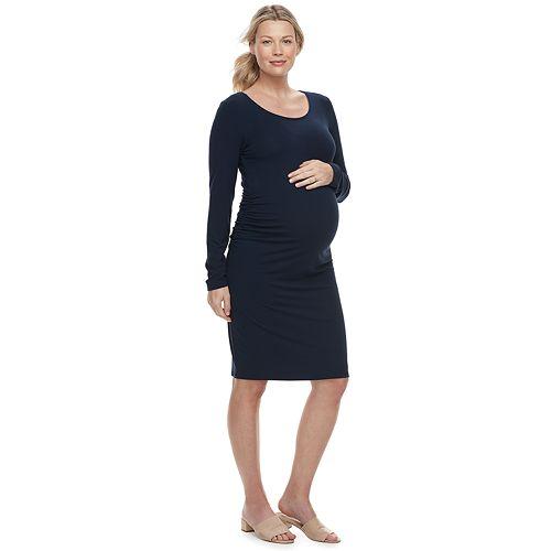 Maternity a:glow Ruched Sheath Dress