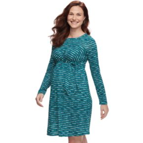 Maternity a:glow Faux-Wrap Dress