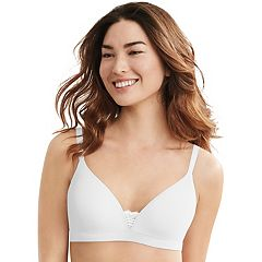 Hanes Ultimate Bras: Soft 2-Ply Wire Free T-Shirt Bra DHHU26