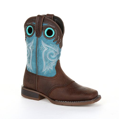 Durango Lil Mustang Toddler Western Saddle Boots