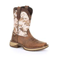 Lil Rebel by Durango Kid's Desert Camo Western Boots