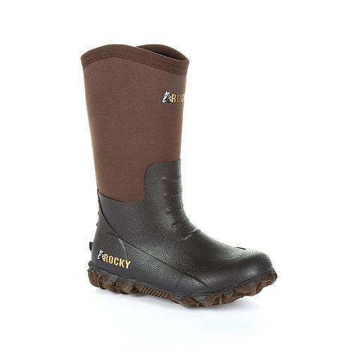 Rocky Core Rubber Kid's Waterproof Outdoor Boots