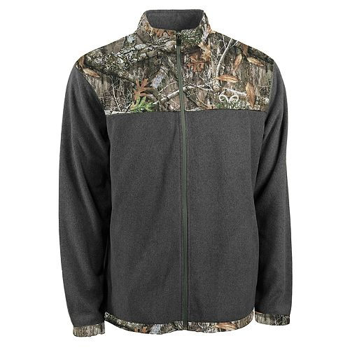 Men's Realtree Recon Full-Zip Fleece Jacket