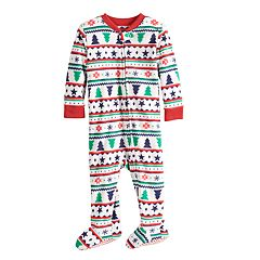 Baby/Infant Jammies For Your Families Fairisle Blanket Sleeper Microfleece One-Piece Pajamas