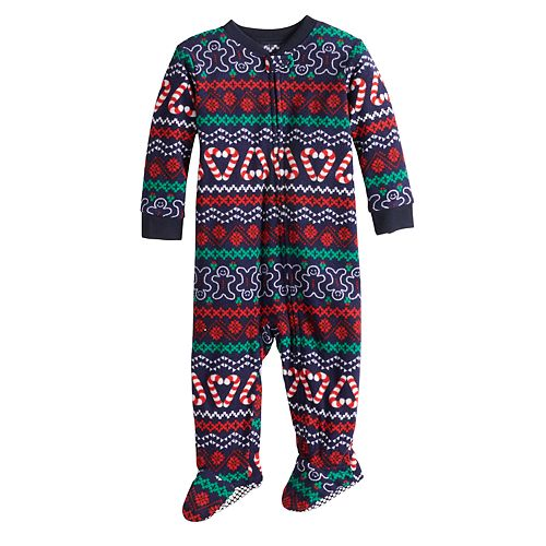 Jammies For Your Families Boys Gingerbread Man 2-Piece Pajama Set