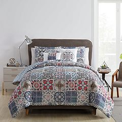 VCNY Home Azure Printed Comforter Set