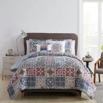 VCNY Home Azure Printed Comforter Set