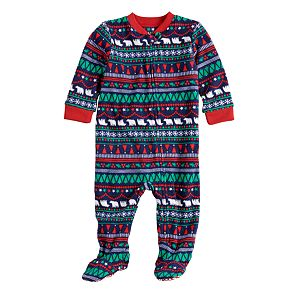 bc4e2d9cc1 Sale.  13.99. Original.  20.00. Baby Infant Jammies For Your Families Happy  Holidays Fairisle Family Pajamas Microfleece Blanket Sleeper Footed Pajamas