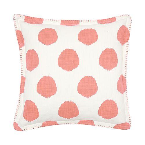 Carol & Frank Dot Throw Pillow