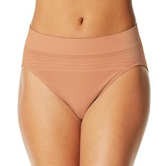 Warner's No Pinching No Problem Seamless Striped Hi-Cut Panty RT5501P - Women's