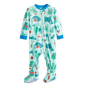 7038e44093 Baby Infant Jammies For Your Families How the Grinch Stole Christmas Grinch Microfleece  Blanket Sleeper One-Piece Pajamas. Sale