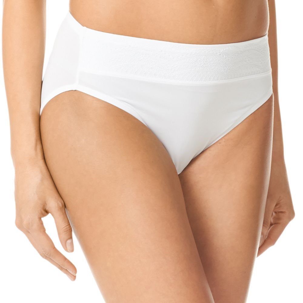 Warner's No Pinching. No Problems. Lace Hi-Cut Panty RT7401P