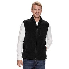 Men's SONOMA Goods for Life™ Modern-Fit Sherpa Fleece Vest