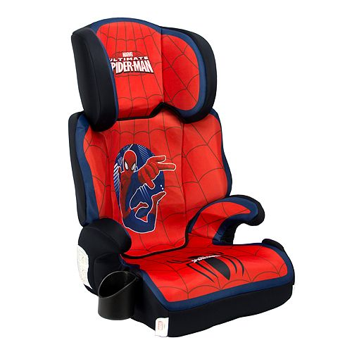 Marvel Spider-Man High Back Booster Car Seat by KidsEmbrace