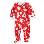 Baby/Infant Jammies For Your Families Yeti Microfleece One-Piece Pajamas