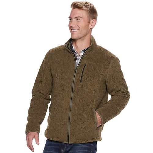 Men's SONOMA Goods for Life™ Sherpa Fleece Jacket