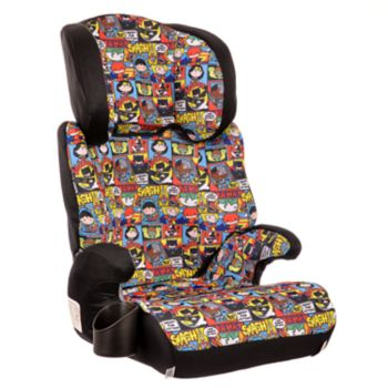 Marvel Justice League High Back Booster Car Seat by KidsEmbrace
