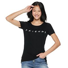 Juniors' Friends Logo Tee