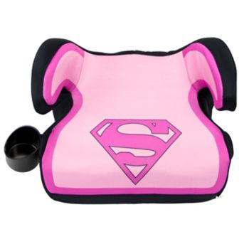 DC Comics Supergirl Backless Booster Car Seat by KidsEmbrace