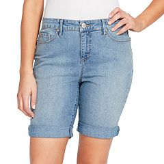 Women's Gloria Vanderbilt Roll-Cuff Jean Shorts