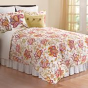 C&F Home Bethany Floral Quilt Set
