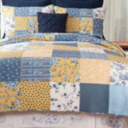 C&F Home Lydia Floral Patchwork Quilt Set