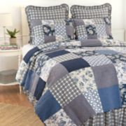 C&F Home Bonnie Floral Patchwork Quilt Set