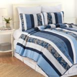 C&F Home Lakeland Striped Quilt Set