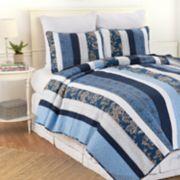 C&F Home Lakeland Striped Quilt Set