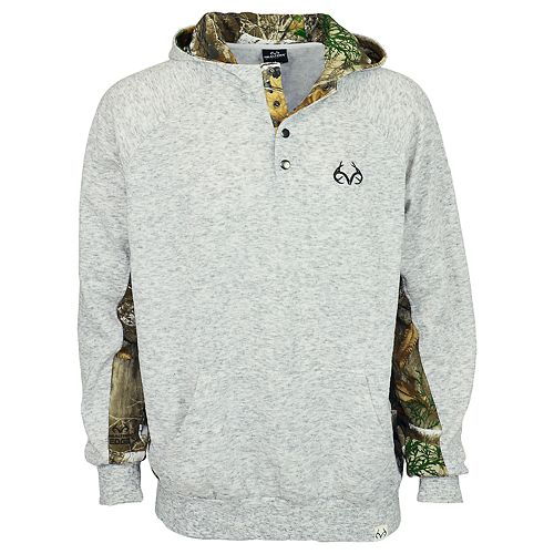 Men's Realtree Impact Fleece Henley Top