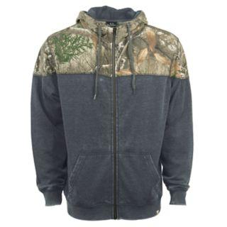 Men's Realtree Shadow Full-Zip Fleece Hoodie