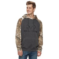Men's Realtree Shadow Pull-Over Hooded Fleece