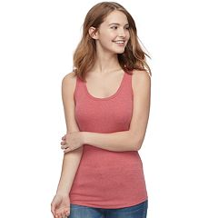 Juniors' SO® Ribbed Racerback Tank