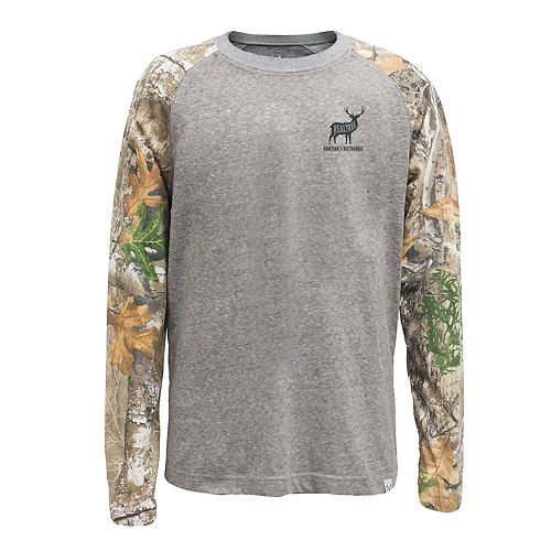 Men's Realtree Nomad Raglan Tee