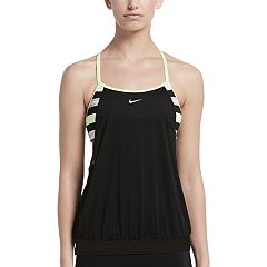 Women's Nike Sport Stripe 2-in-1 Tankini Top
