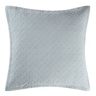 Carol & Frank Basketweave Spa Euro Sham Set