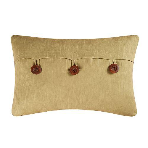 Carol & Frank Green Envelope Oblong Throw Pillow