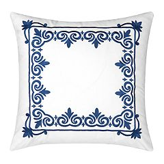 Carol & Frank Renee Scroll Throw Pillow