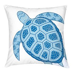 Carol & Frank Turtle Throw Pillow